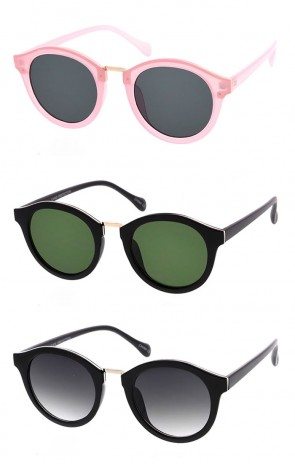 Retro Womens Plastic Frame Sunglasses