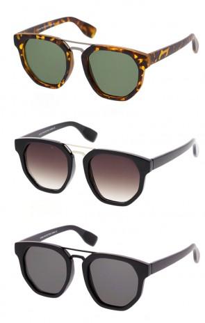 Unisex Vintage Inspired Round Frame Sunglasses