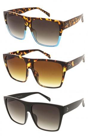 0abe1e7efd0 Retro Square Gradient Lens Wholesale Sunglasses