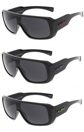 Kush Action Sport Large Aviator Wholesale Sunglasses