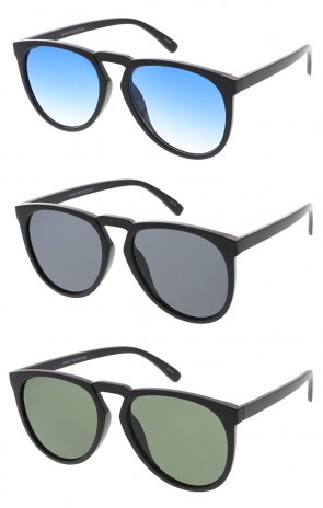 Indie Dapper Keyhole Teardrop Wholesale Sunglasses