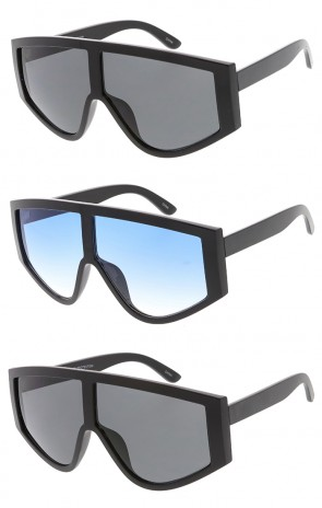 Oversized Retro Plastic Womens Wholesale Sunglasses