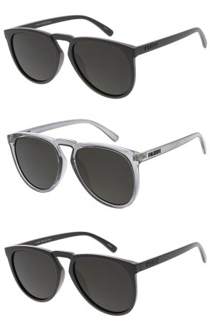 KUSH Oversized Horn Rimmed Wholesale Sunglasses