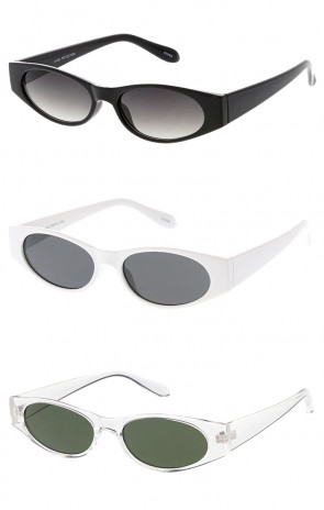 Edgy Small Cat Eye 90s Vintage Wholesale Sunglasses