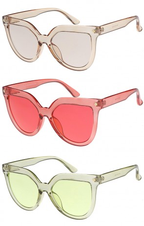 Colorful Women's Bold Cat Eye Wholesale Sunglasses