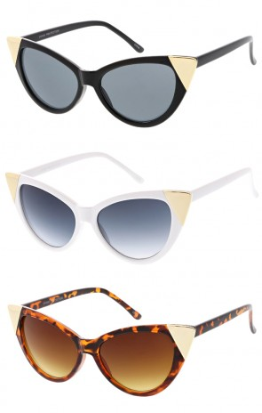 Modern Womens Hot Tip Cat Eye Wholesale Sunglasses