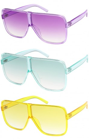 Oversize Retro Colorful Wholesale Sunglasses