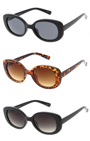 Retro 1990's Rectangle Clout Wholesale Sunglasses