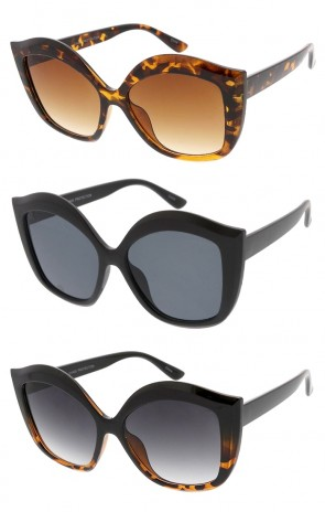Oversized Chunky Butterfly Womens Wholesale Sunglasses