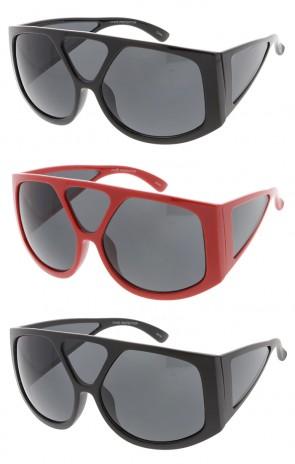 Oversized Wide Fashion Wholesale Womens Sunglasses