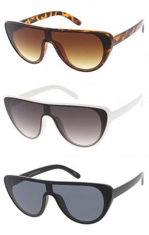 Retro Aviator Flat Top Cat Eye Wholesale Sunglasses