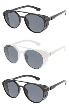 Side Cover Steampunk Retro Fashion Wholesale Sunglasses