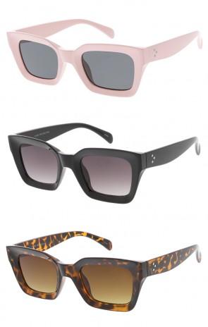 Chunky Framed Horn Rimmed Wholesale Womens Sunglasses