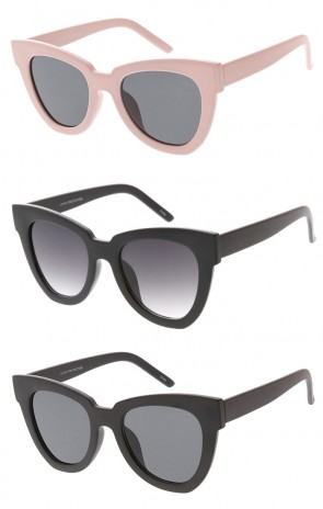 Oversized Chunky Horn Rimmed Womens Wholesale Sunglasses