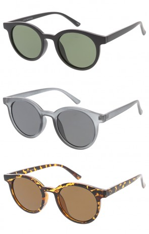 Vintage Inspired Retro Round Wholesale Sunglasses