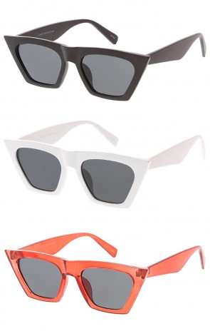 Chunky Square Cat eye Womens Wholesale Sunglasses