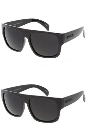 KUSH Classic Flat Top Horn Rimmed Wholesale Sunglasses