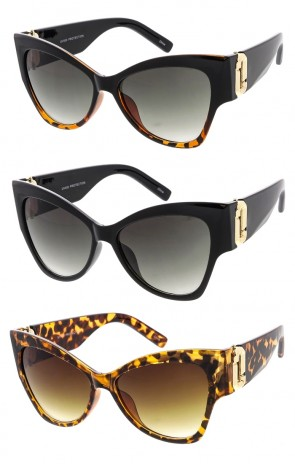 Oversized Butterfly Cat Eye Luxury Wholesale Sunglasses