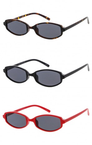 Small Oval Retro Style Womens Wholesale Sunglasses