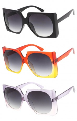 Oversized Retro Square Fashion Womens Wholesale Sunglasses