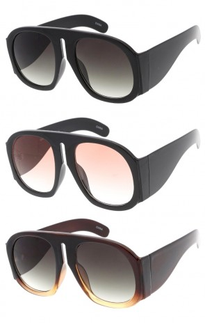 Oversized Chunky Fashion Womens Wholesale Sunglasses