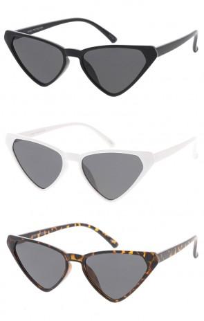 Womens Retro Triangle Cat Eye Wholesale Sunglasses
