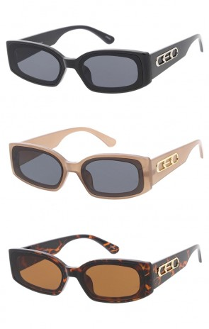 Retro Rectangle Wholesale Sunglasses