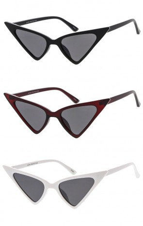Extreme Pointy Cat Eye Womens Wholesale Sunglasses
