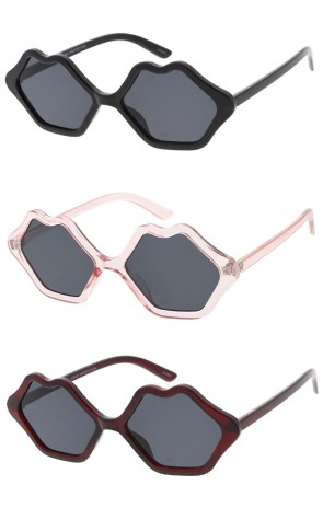 Womens Lips Wholesale Sunglasses