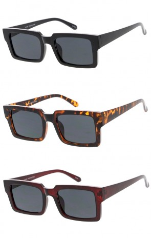 Square Horn Rimmed Wholesale Sunglasses