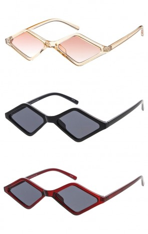 Small Diamond Frame Retro Style Wholesale Sunglasses
