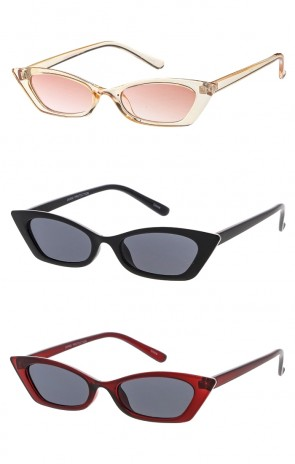 Small Retro  Cat Eye Womens Wholesale Sunglasses