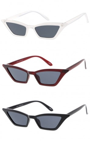 Thin Retro Style Cat Eye Womens Wholesale Sunglasses