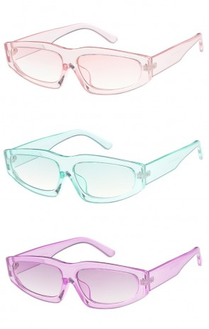 Chunky Color Frame Womens Wholesale Sunglasses