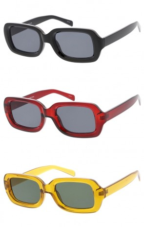 Women's Pointed Cat Eye Neutral Colored Lens Wholesale Sunglasses