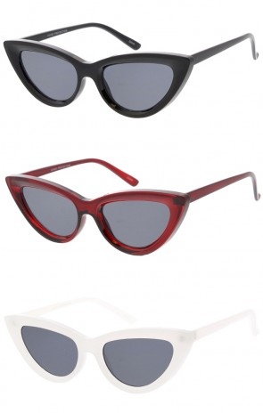 Unisex Chunky Square Neutral Colored Lens Wholesale Sunglasses