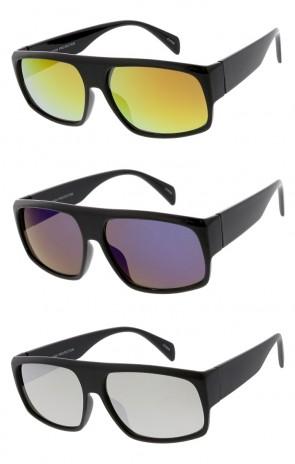 adda003dc11 Retro Style Wholesale Sunglasses Color Mirror
