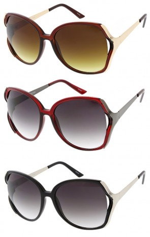 Womens Oversize Butterfly Wholesale Sunglasses