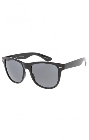 Large Retro Black Horned Rim Wholesale Sunglasses