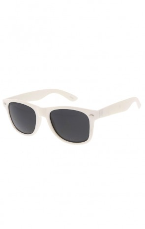 Retro White Soft Touch Horned Rim Wholesale Sunglasses