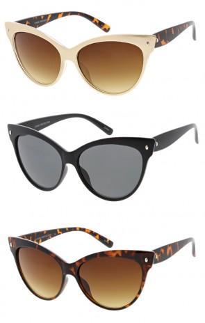 Elegant Womens Retro  Cat Eye Wholesale Sunglasses