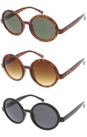 Womens Classic Round Wholesale Sunglasses