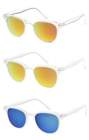 Retro Modern Frame Horn Rimmed Wholesale Sunglasses
