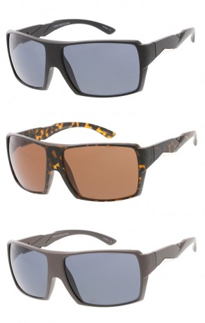 Action Sports Square Aviator Wholesale Sunglasses