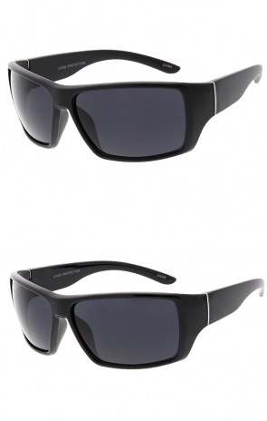 Mens Outdoors Action Sports Wrap Around Wholesale Sunglasses