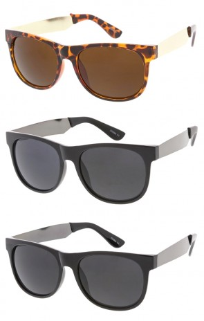 Retro Large Horned Rim Classic Wholesale Sunglasses