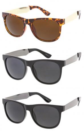 Retro Large Horned Rim Classic Wholesale Sunglasses