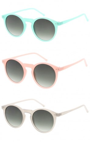 Vintage Key Hole Color Frame Wholesale Sunglasses