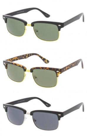 Vintage Style Horn Rimmed Wholesale Sunglasses
