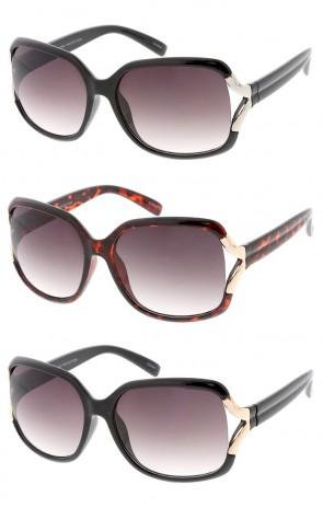 Oversized Fashion Retro Style Womens Wholesale Sunglasses